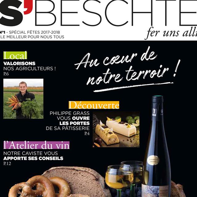 Magazine consommateur Super U de Lingolsheim