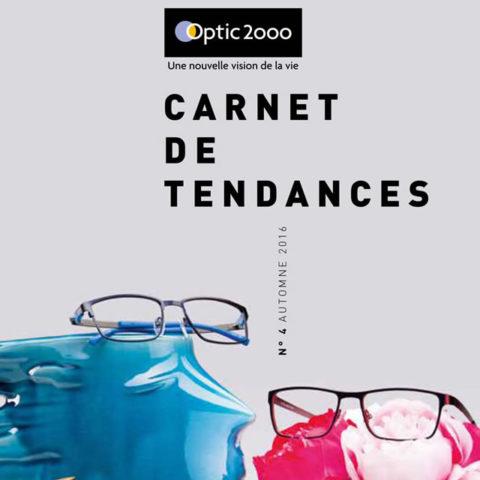 Carnets de tendances Optic 2ooo