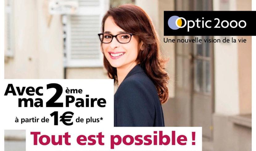 Campagne 2ème paire pour optic2000 - Étude de cas 02-01