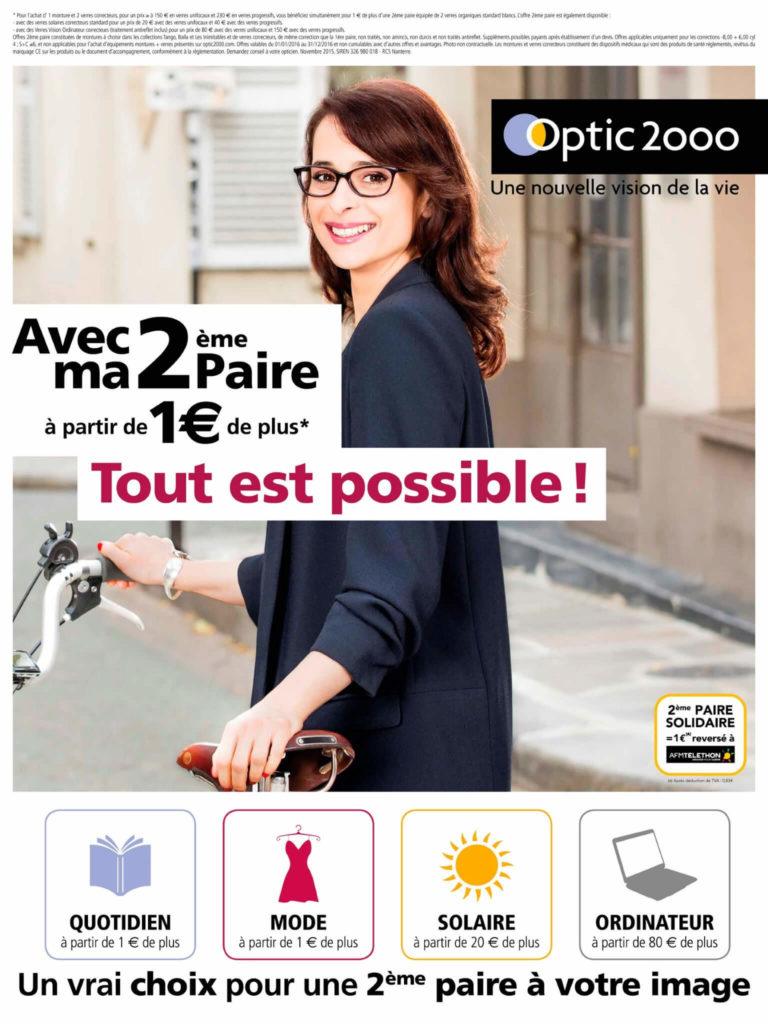 Campagne 2ème paire pour optic2000 - Étude de cas 02-02